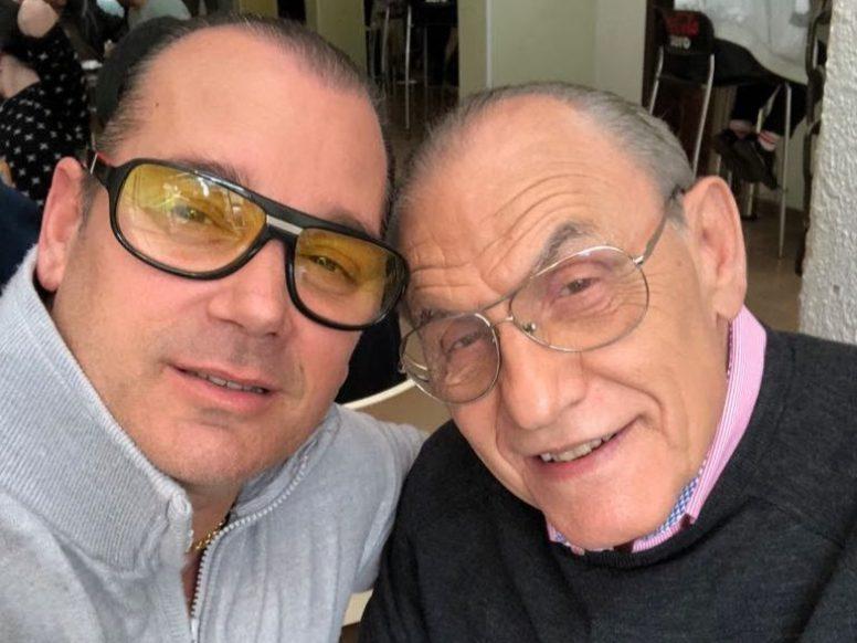 מרצ'לו אינצ'ליני עם לוי יצחק.